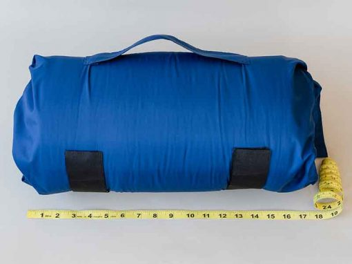 Navy SleepKeeper measuring 18""