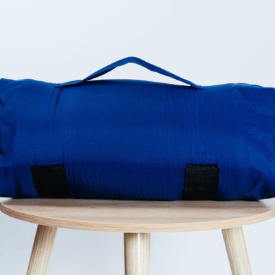 Navy Travel Pillow Bag