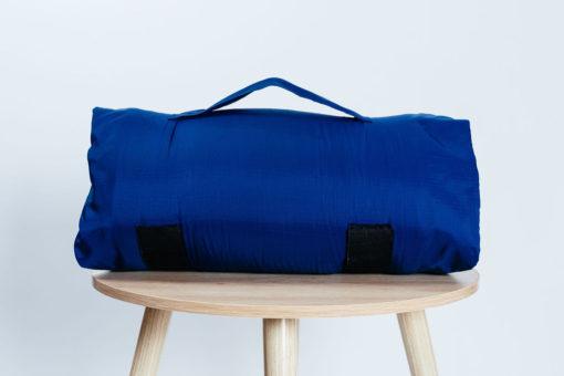 Navy Travel Pillow Bag