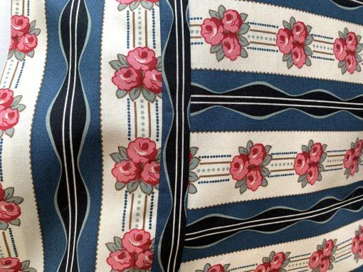 Close up of Roses pillowcase