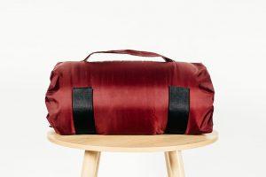 Maroon Travel Pillow Bag
