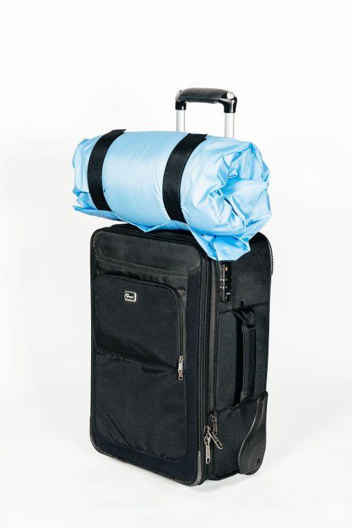 Sky Blue Travel Pillow Bag